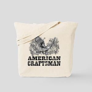 American Craftsman Distressed Tote Bag