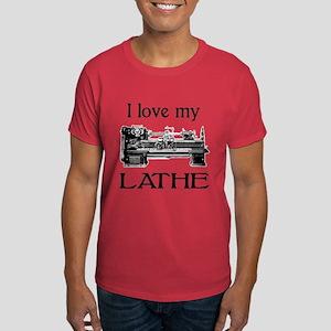 I Love My Lathe Dark T-Shirt