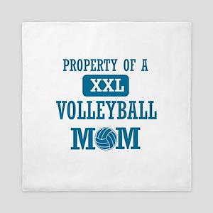 Cool Volleyball Mom designs Queen Duvet