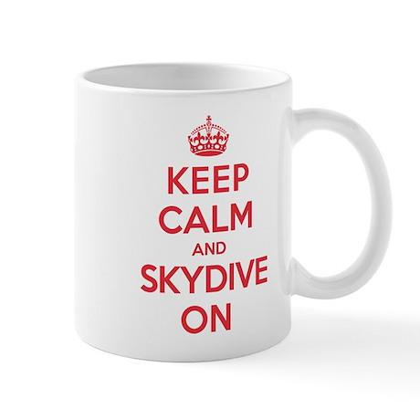 K C Skydive On Mug