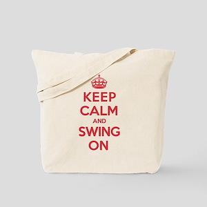 K C Swing On Tote Bag