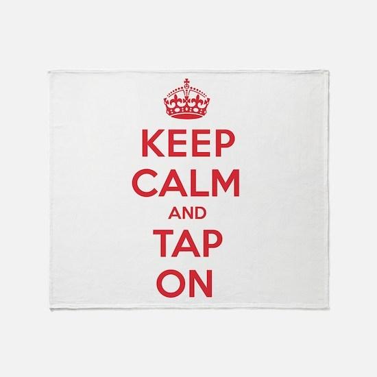 K C Tap On Throw Blanket