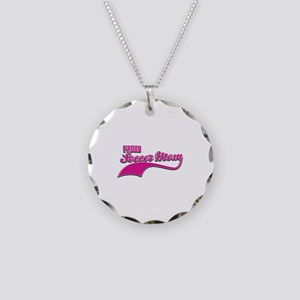 Soccer Mom designs Necklace Circle Charm