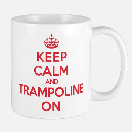 K C Trampoline On Mug