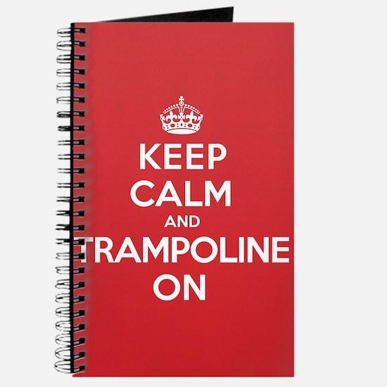 K C Trampoline On Journal