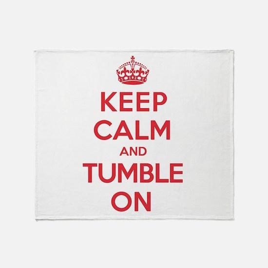 K C Tumble On Throw Blanket