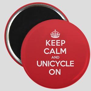K C Unicycle On Magnet