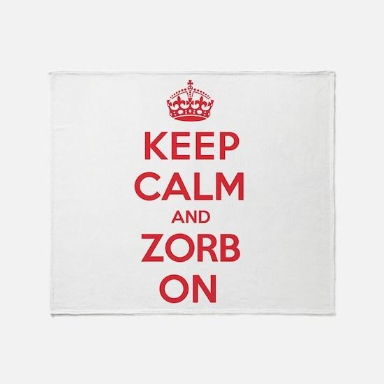 K C Zorb On Throw Blanket