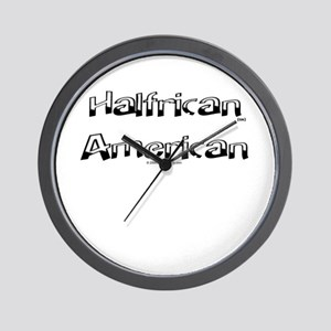 Halfrican Wall Clock