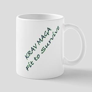 Krav Maga Fit to Survive Mug