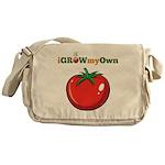 iGrowMyOwn: Tomato Messenger Bag