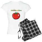 iGrowMyOwn: Tomato Women's Light Pajamas