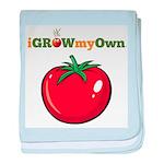 iGrowMyOwn: Tomato baby blanket