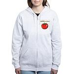 iGrowMyOwn: Tomato Women's Zip Hoodie