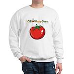 iGrowMyOwn: Tomato Sweatshirt