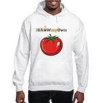 iGrowMyOwn: Tomato Hooded Sweatshirt