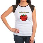 iGrowMyOwn: Tomato Women's Cap Sleeve T-Shirt