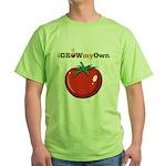 iGrowMyOwn: Tomato Green T-Shirt