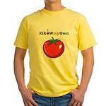 iGrowMyOwn: Tomato Yellow T-Shirt