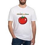 iGrowMyOwn: Tomato Fitted T-Shirt