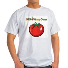 iGrowMyOwn: Tomato Light T-Shirt