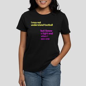 Understand Football Women's Dark T-Shirt