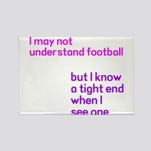 Understand Football Rectangle Magnet