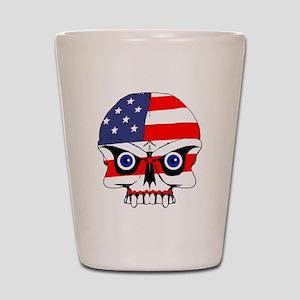 Freedom skull Shot Glass