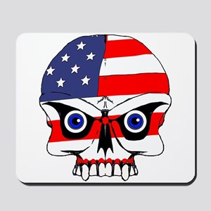 Freedom skull Mousepad