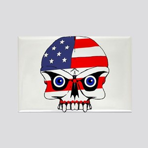 Freedom skull Rectangle Magnet