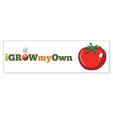 iGrowMyOwn: Tomato Sticker (Bumper)