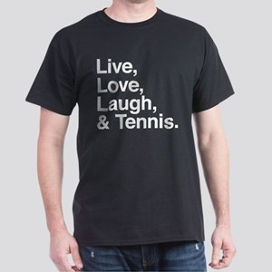 love and tennis Dark T-Shirt