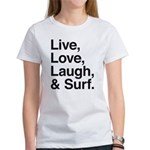 love and surf Women's T-Shirt