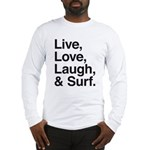 love and surf Long Sleeve T-Shirt