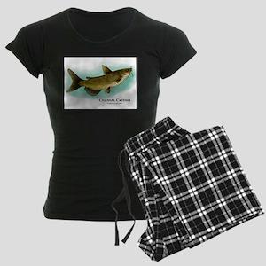 Channel Catfish Women's Dark Pajamas