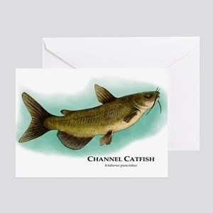 Channel Catfish Greeting Card