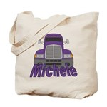 Trucker Michele Tote Bag