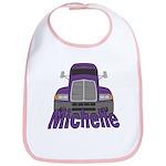 Trucker Michelle Bib