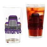 Trucker Mildred Drinking Glass