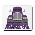 Trucker Mildred Mousepad