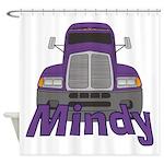 Trucker Mindy Shower Curtain