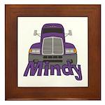 Trucker Mindy Framed Tile