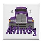 Trucker Mindy Tile Coaster