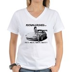 mx5unleashed Women's V-Neck T-Shirt