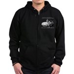 mx5unleashed Zip Hoodie (dark)