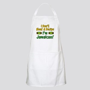 Don't Need Recipe Jamaican Apron