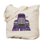 Trucker Miranda Tote Bag