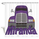 Trucker Miranda Shower Curtain