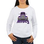 Trucker Misty Women's Long Sleeve T-Shirt