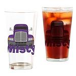 Trucker Misty Drinking Glass